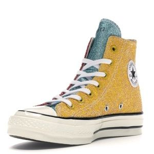 Converse Chuck Taylor All-Star Hi JW Anderson - Glitter Yellow Red